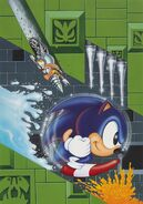 Sonic Labyrinth Zone art