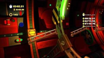 Sonic Lost World (Wii U) - Tropical Coast Act 3