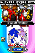 Sonic Rush story select