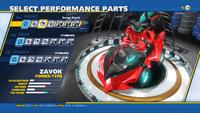 Zavok Savage Engine Front