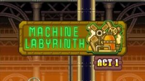 DesMuMe - Sonic Rush Adventure Machine Labyrinth, Blaze - Act 2