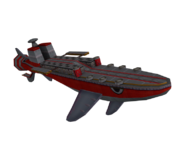 Egg Fleet ship model 1
