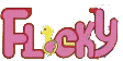 Flicky Arcade Logo JP English