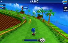Green Hill (Sonic Dash) - Screenshot 1