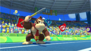 Mario & Sonic at the Rio 2016 Olympic Games - Donkey Kong Javelin Throw