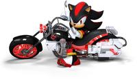 S&SASR Shadow the Hedgehog on Dark Rider