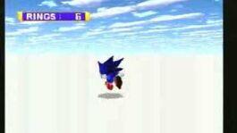 Sega Saturn - Sonic Jam Sonic World bounds glitch
