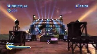 Sonic Generations Rooftop Run (Vector Mission) 1080 HD
