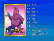 Sonic X karta 89