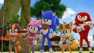 WHATSG Team Sonic arrive