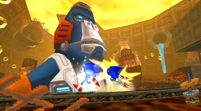 File:Egg Kong Sonic vs Metal Sonic.jpg