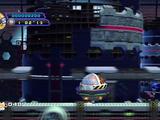 Metal Sonic and Eggmobile