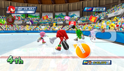 Mario Sonic Olympic Winter Games Gameplay 062
