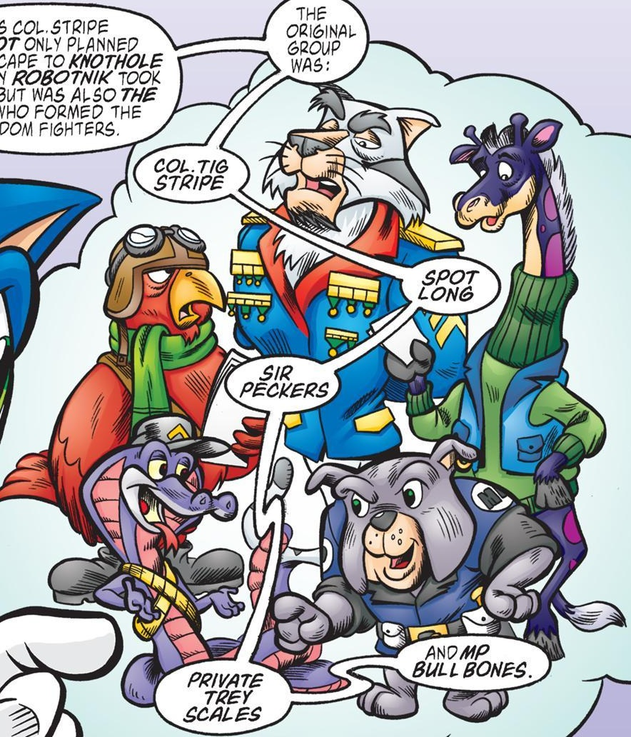 Image result for original freedom fighters sonic