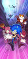 Promotional art - Sonic Chronicles The Dark Brotherhood