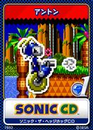 Sonic CD karta 1