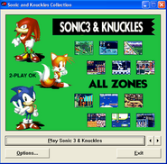 Sonic and knuckles collection s3&k