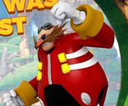 VS 3D art Eggman