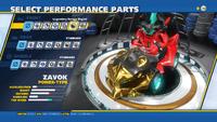 Zavok Legendary Savage Engine Front