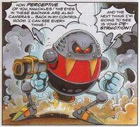 Eggbot Sonic the Comic