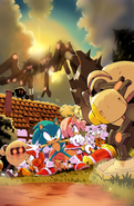 IDW Sonic 2 Raw
