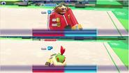 Mario & Sonic at the Rio 2016 Olympic Games - Dr.Eggman VS Bowser Jr. Gymnatsics