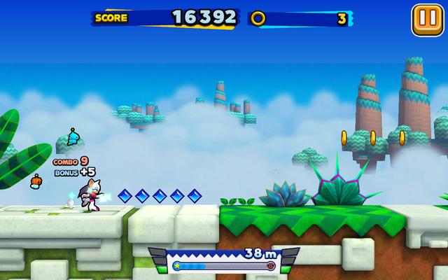 File:Sky Road (Sonic Runners) - Screenshot 2.png