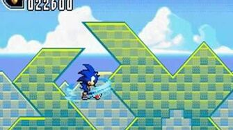 Sonic Advance 2 (GBA) Leaf Forest Zone