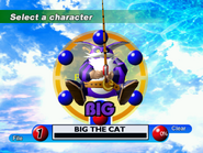 Sonic Adventure Character Select DC 5