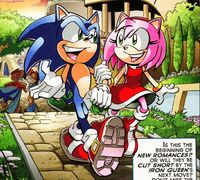 Amy y Sonic
