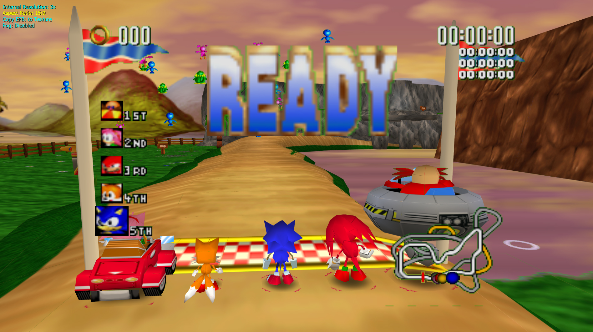 Image result for Sonic R