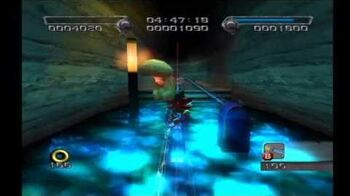 Shadow the Hedgehog Stage 6-1 GUN Fortress (Hero Mission no com)