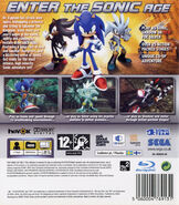 Sonic06 PS3 Cover UK Back