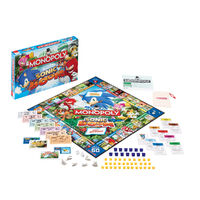 Sonic Boom Monopoly content