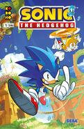 Sonic IDW Kodomo Cover