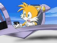 Sonic X Tails Scared