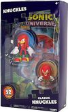 Tomy Collector Series Knuckles figure comic pack