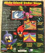 Sonic 3D - PC US box back