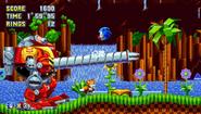 Sonic Mania Death Egg Robot