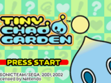 Tiny Chao Garden