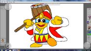 King Dedede By Metal