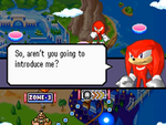 Knuckles sonic rush 2