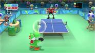 Mario & Sonic at the Rio 2016 Olympic Games - Yoshi VS Eggman Table Tennis
