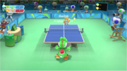 Mario & Sonic at the Rio 2016 Olympic Games - Yoshi VS Tails Table Tennis