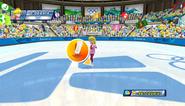 Mario Sonic Olympic Winter Games Gameplay 075