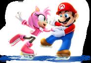 Mario and Amy Sochi 2014