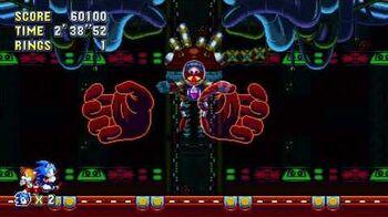 Sonic Mania Boss 26 - Phantom Egg