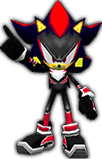 Sonic Rivals 2 - Shadow the Hedgehog costume 1