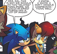 Sonic and Sally Shy
