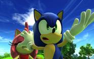 Sonic vs Amy